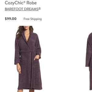 Barefoot dreams cozy chic robe